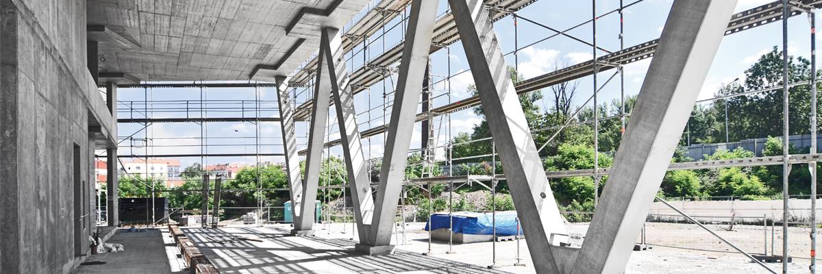 Dodávka železobetonových konstrukcí